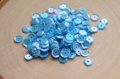 Approx-100pcs-6mm+cupped+Iridescent+sequins.