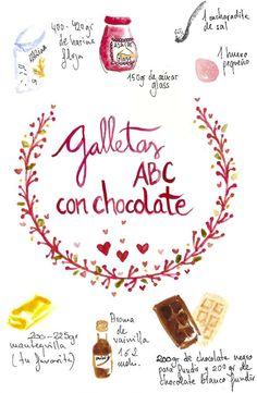 galletas corazon de chocolate cookies san valentine