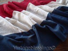 """13 1/2 Feet ANTIQUE c1876 Patriotic Americana Flag Bunting 162"""" x 23 3/4"""""""