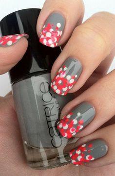 lackfein - neon polka dots
