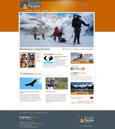 South People Patagonia  Diseño y desarrollo Web 2.0  Sistema Administrable