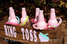 cowgirl birthday party games | Party game - ring toss