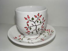 Keramika - šípky Verona, Tea Cups, Tableware, Dinnerware, Tablewares, Dishes, Place Settings, Cup Of Tea