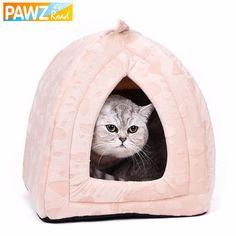 Cama del gato pequeño perro de la casa de verano Soft cachorro perrera encantadora tapetes gatito mercancías del Animal doméstico para mascota a casa linda casa de animales