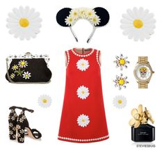 """Daisy Crazy"" by steviesbug ❤ liked on Polyvore featuring Disney, Marc Jacobs, Dolce&Gabbana, Betsey Johnson, Monsoon, women's clothing, women, female, woman and misses"
