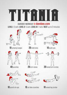 Titania - Darebee Workout