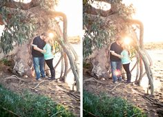 Los Osos, California engagement session. Boats, trees fields and lots of love in the air. Tayler Enerle Photography » San Luis Obispo Wedding Photographer