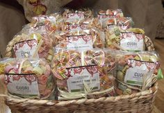 Organic Artisan multi color farfalle (bowties) and Cuori (Heart Shape) pasta that will make for a fun colorful and popular entrée with both children and adults.
