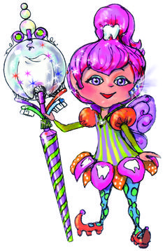 Teena the Tiny Tooth Fairy from the Magic Sceptre Series of Children's books