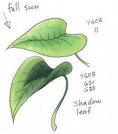 I Like Markers: Basic Spring Leaves