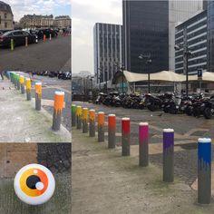 """Street Art"" alla ""Gare (stazione) de Lyon"", a Parigi"".#garedelyonparis"