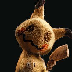 Mimikyu Pokemon Cyril Lavanant on ArtStation Poke Pokemon, Ghost Pokemon, Pokemon Funny, Pokemon Fan Art, Fotos Do Pokemon, Pokemon In Real Life, Pokemon Movies, Cartoon Crossovers, Pokemon Birthday