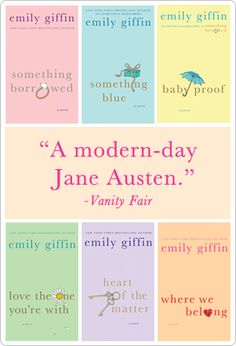 Anything my Emily Giffin