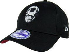 6fad309a8c4 New Era Kids 940 Glow In The Dark Iron Man Adjustable Cap