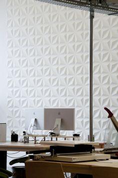 Karo Muster-3d Wandplatten-weißes Dekor-moderne akustische Wandpaneele