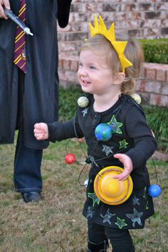 Solar System costume! She was our addition to a Big Bang Theory themed halloween!