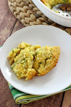 Corn & Zucchini Casserole - Diary of a Recipe Collector