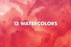 Watercolor Textures @creativework247