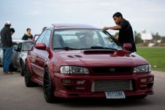 dig the fenders, rims, and front mounted intercooler