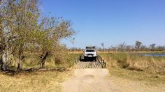 Lean At Ngami Halfway Botswana Photo Of Toyota Crossing River