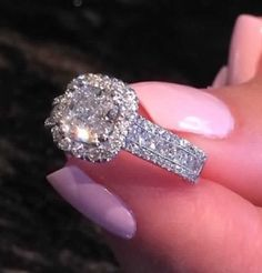 The existence of the diamond has positively impacted our society, along with others for ages. Diamond jewelry began as a luxury for many wealthy Diamond Rings, Diamond Jewelry, Jewelry Rings, Jewellery, Fine Jewelry, Pretty Rings, Beautiful Rings, Dream Engagement Rings, Expensive Engagement Rings