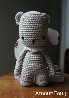 { Pemberley, the bear - By Amour Fou }