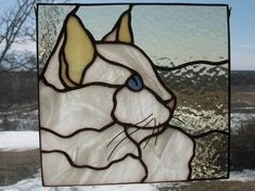 Your place to buy and sell all things handmade Stained Glass Ornaments, Faux Stained Glass, Stained Glass Panels, Stained Glass Projects, Stained Glass Patterns Free, Stained Glass Designs, L'art Du Vitrail, Glass Art Pictures, Glass Artwork