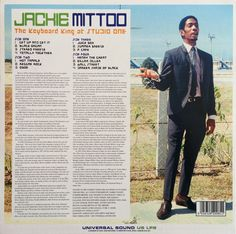 Jackie Mittoo - The Keyboard King At Studio One (back cover)