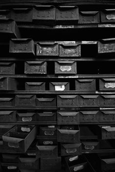 Black -★- boxes Black Box, My Black, Shades Of Black, Photo Texture, Fade To Black, All Black Everything, White Picture, White Style, Industrial Style