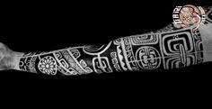 Polynesian Sleeves / Arm Tattoos - Ti'a'iri Polynesian Tattoo