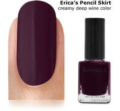 Barielle Nail Color Erica's Pencil Skirt $8.00 at StimulatingBeauty.com