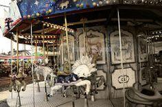 Carrusel (GSTV oc) Tags: color sepia canon mexico caballo loneliness feria carousel fair soledad puebla carrusel juegosmecanicos caballitos