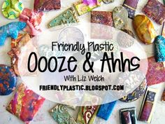 Oooze-y Does it Friendly Plastic Project idea - Free Tutorial Shrink Plastic Jewelry, Diy And Crafts, Arts And Crafts, Shrink Art, Friendly Plastic, Plastic Art, Melting Beads, Shrinky Dinks, Handmade Beads