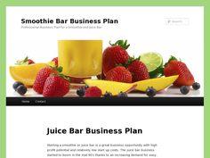 Smoothie and juice bar business plan | | Career & Goals ...