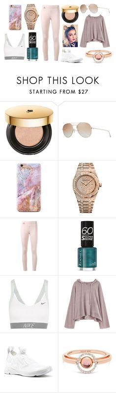 """Jogging with my Dad"" by hailey-smith-13 ❤ liked on Polyvore featuring Lancôme, Tom Ford, Audemars Piguet, adidas, Rimmel, NIKE, Reebok and Marie Mas"