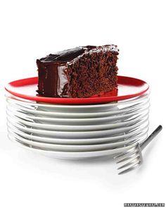 Double-Chocolate Cake