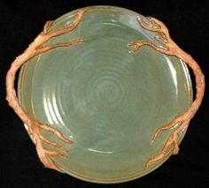 Family Tree Custom Engraved Pottery Platter