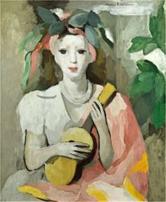 Marie Laurencin, Girl with a Guitar, Washington, National Museum of Women in the Arts