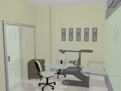 Projeto: Design de Interiores: Consultório. Cliente: Cedrela Centro Odontológico - Campinas - São José-SC. Ano: 2010. Desenvolvido po...