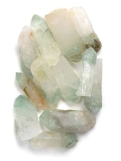 """""""Celadonite Phantom Quartz"""" are meditation Crystals and healing Crystals used almost exclusively to get in touch with the inner self for purposes of self-knowledge. They are most specifically used to help in understanding our inner needs that when satisfied will bring us the happiness we seek - the true happiness of complete fulfillment."""