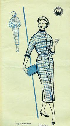 from Russia: clothing patterns, 1957 - SSvetLanaV - Веб-альбомы Picasa