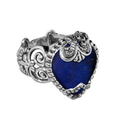 Carolyn Pollack Sincerely Fabulous Lapis Ring // Bold blue for #July4th and Made in the USA