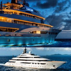 """The yacht #Quattroelle was built by #Lurssen and delivered to her owner in 2013. She is designed by the Italian based Nuvolari-Lenard and can accommodate 16 guests in 8 staterooms. The yacht has a crew of 29. Quattroelle has a gymnasium designed by #UsainBolt, a spa , a massage room and several pools. The name Quattroelle stands for """"four L's or #Love, #Life, #Liberty, and #Luxury """". Quattroelle was built for Michael Lee-Chin, but he sold the yacht in 2014 to UAE billionaire #MajidalFuttaim"""