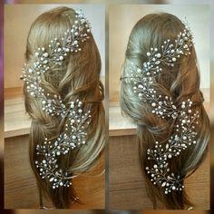 Free SHIPPINGBridal hair vineCrystals Bridal by VsFilipchenko