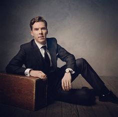 Benedict Cumberbatch photographed by @mark_seliger at the 2014 Vanity Fair Oscar party
