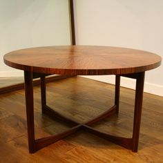 Re-polished McIntosh rosewood coffee table - Pure Imagination