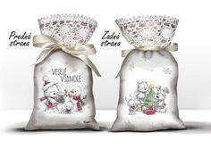 Vankúšik - Kreslené Vianoce