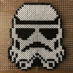 Stormtrooper - Star Wars hama beads by pixtille