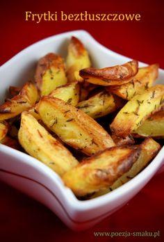 Dietetyczne frytki beztłuszczowe - No Fat Dietetic French Fries (recipe in Polish)