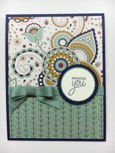 www.juststampin.com Stampin' Up! Designer Series Paper, Simple Card Formula, The ABC's of Stampin', Places You'll Go stamp set